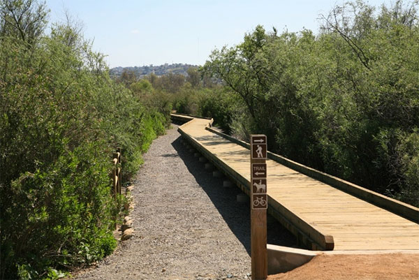 Tijuana River Valley Regional Park trail
