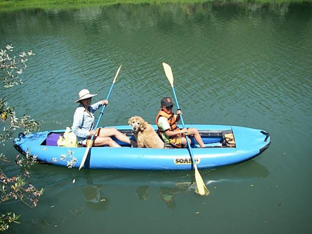 Float the Russian River with your dog