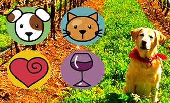 Wine 4 Paws Weekend Logo
