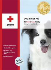 dog first aid book from american red cross