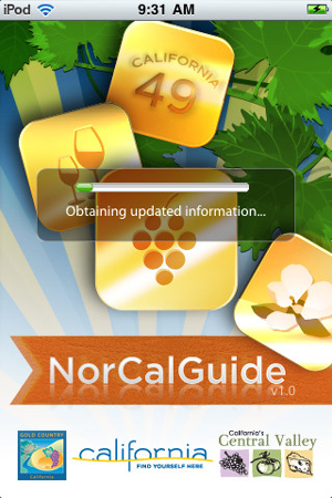 NorCal Travel Guide App