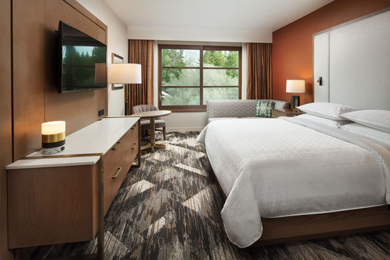Sheraton Redding room