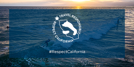 Travel responsibly logo
