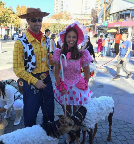 Halloween event at Jack London Square