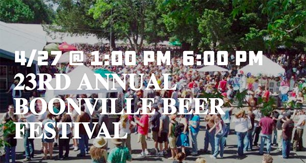 Boonville Beer Festival, Booneville