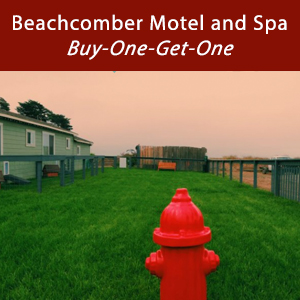 Beachcomber Motel Buy-One-Get-One special