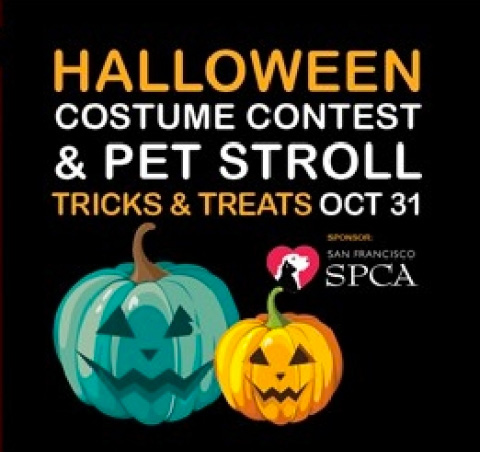 Halloween Costume Contest and Pet Stroll