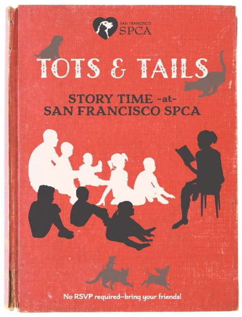 Tots & Tails Story Time at Pac Heights Campus