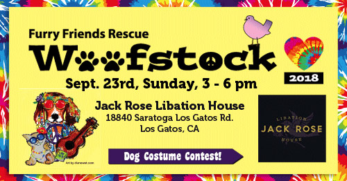 Furry Friends Rescue WOOFSTOCK 2018