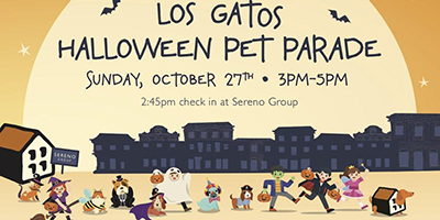 Los Gatos Halloween Pet Parade