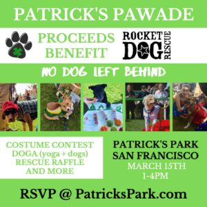 Patrick's Pawade-Benefit for Rocket Dog Rescue