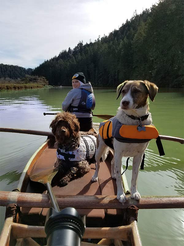 Paddling the Big River, Mendocino County - Photo Credit: Jolene Colman