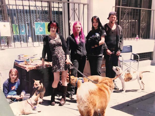 Photo - Pali Boucher and some Rocket Dogs and people, Rocket Dog Rescue