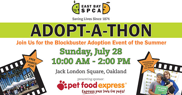 East Bay SPCA Hosts Annual Adopt-a-thon in Oakland