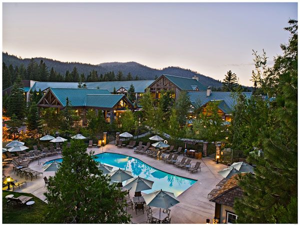 Tenaya Lodge at Dawn