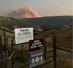Regional Parks Closed Due to Extreme Fire Activity