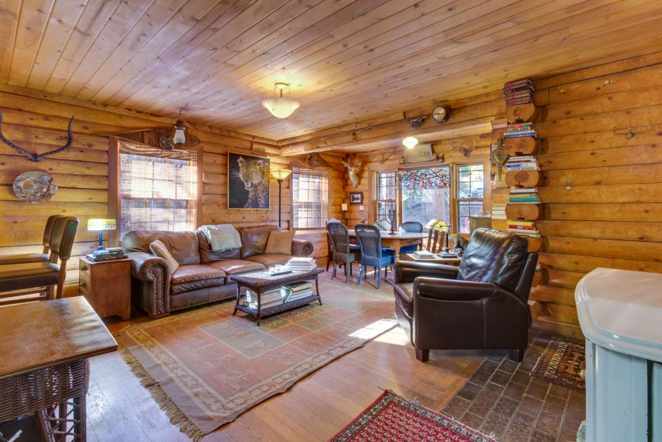 Lucky Tree Cabin is a true log cabin experience
