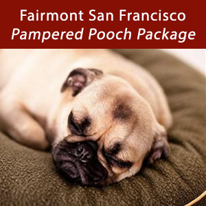 Fairmont San Francisco, Pampered Pooch Package
