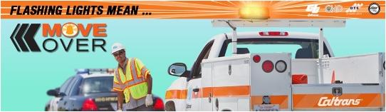 move over caltrans banner