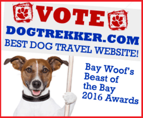 Vote DogTrekker.com Best Dog Travel Website!