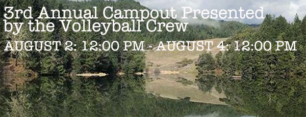 mendocino miracle campout by volleyball crew