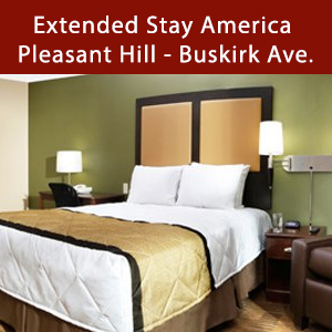 Dog-friendly Extended Stay America - Pleasant Hill - Buskirk Ave.