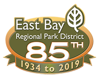 East Bay Regional Park District 85 years logo