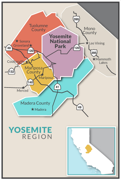 Dog Friendly Yosemite Region